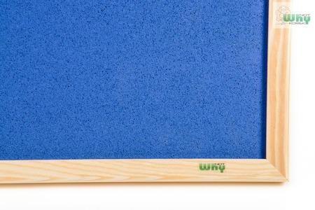 Tablica korkowa barwiona w ramie drewnianej 100x150 cm