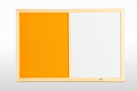 Tablica korkowa magnetyczna DUO 60x90 KOLOR