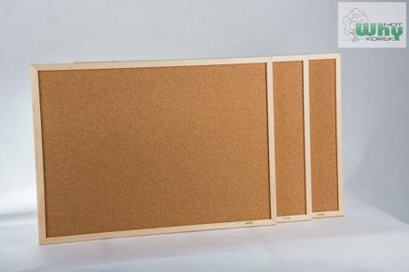 Tablica korkowa w ramie drewnianej 50x60 cm